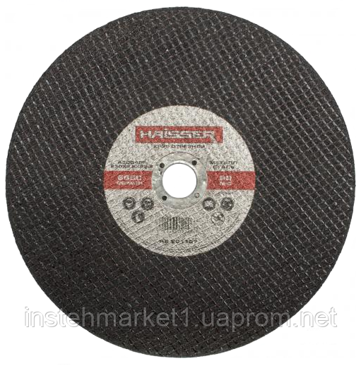Круг відрізний Haisser 230х2,5х22.2 мм по металу