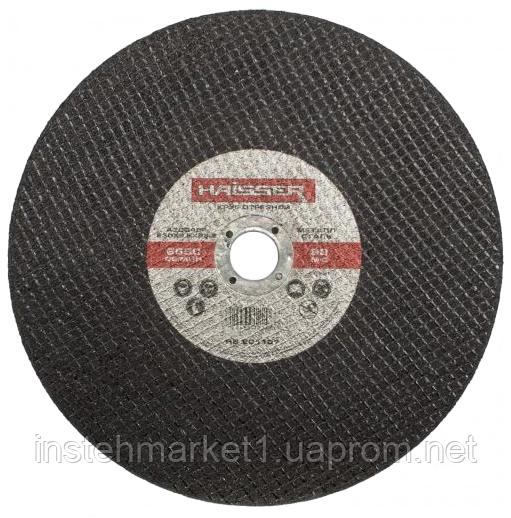 Круг відрізний Haisser 230х2,5х22.2 мм по металу в інтернет-магазині