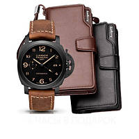 Часы Luminor Panerai + Клатч Baellery Business в подарок