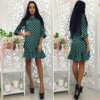Женское платье в горошек , фото 1