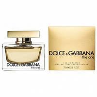 Женские духи Парфюм  Dolce & Gabbana The One 75 ml лицензия,магазин парфюмерии
