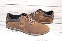 Туфли мужские комфорт цвета олива М1