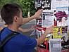 Расклейка листовок в Днепре  (не работа, это услуга, никого не ищем)
