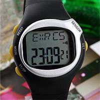 Спортивные часы пульсометр 6 в 1, счетчик калорий.