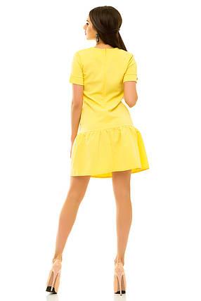 Платье 236 желтое, фото 2