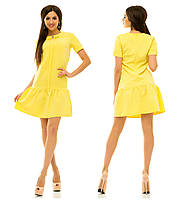 Платье 236 желтое