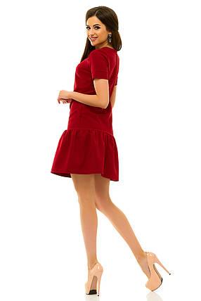 Платье 236 бордо, фото 2