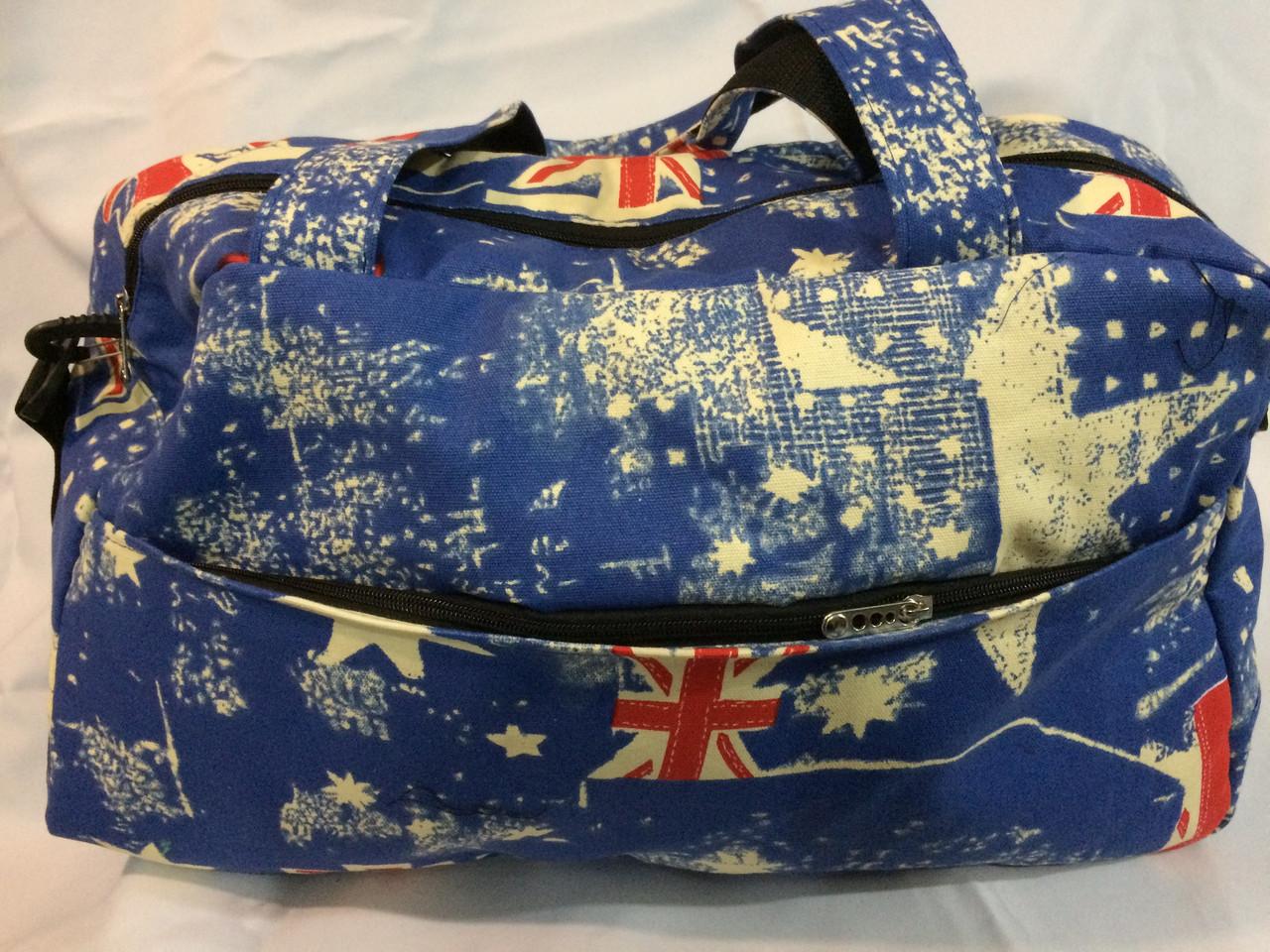 208d67fa5a83 Женская спортивная сумка c модным принтом: британский флаг - Svitparfum.com  - мир Вашего