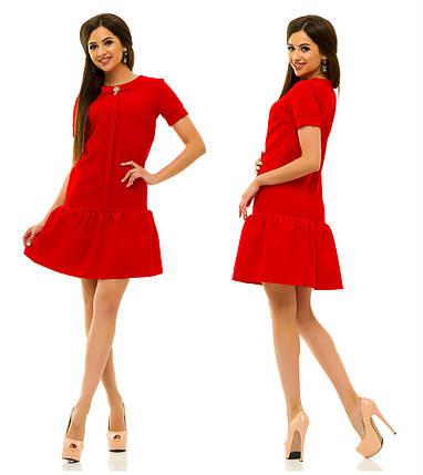 Платье 236 красное, фото 2