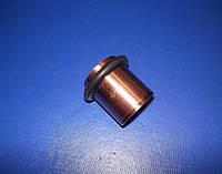 Упор дверной бочонок средний 38мм медь, фото 1