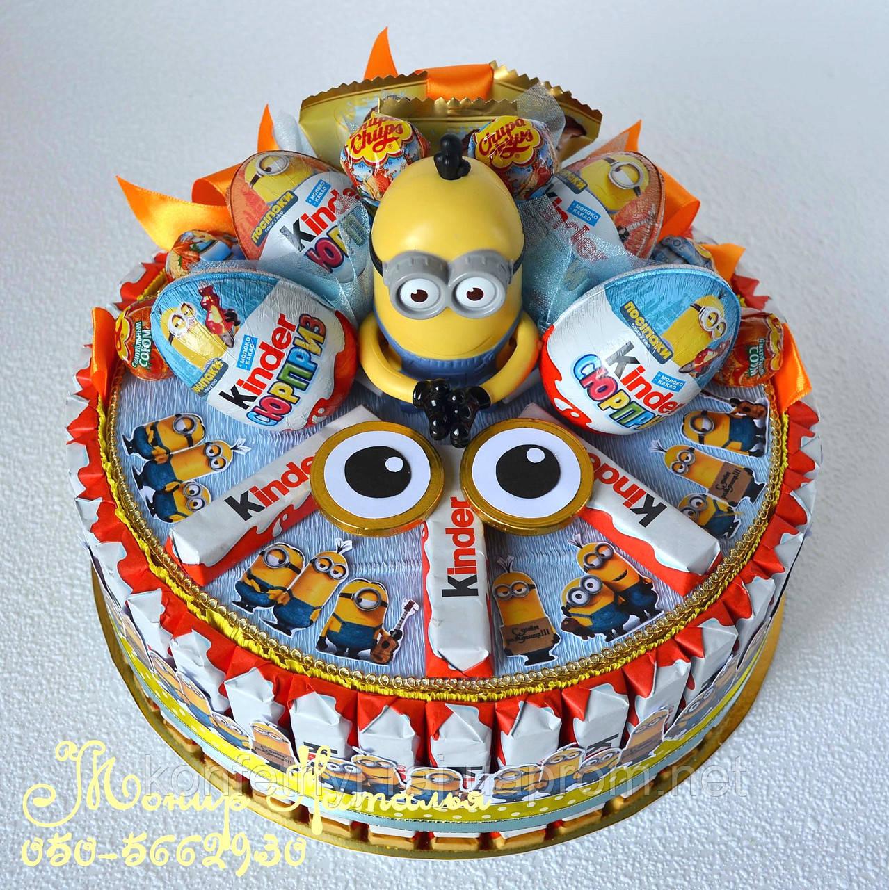 Торты миньоны на день рождения фото Миньономания