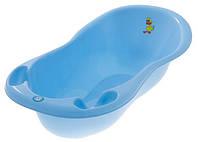 Ванна со сливом Tega Большая 102 см TG-061 Lux BALBINKA голубые