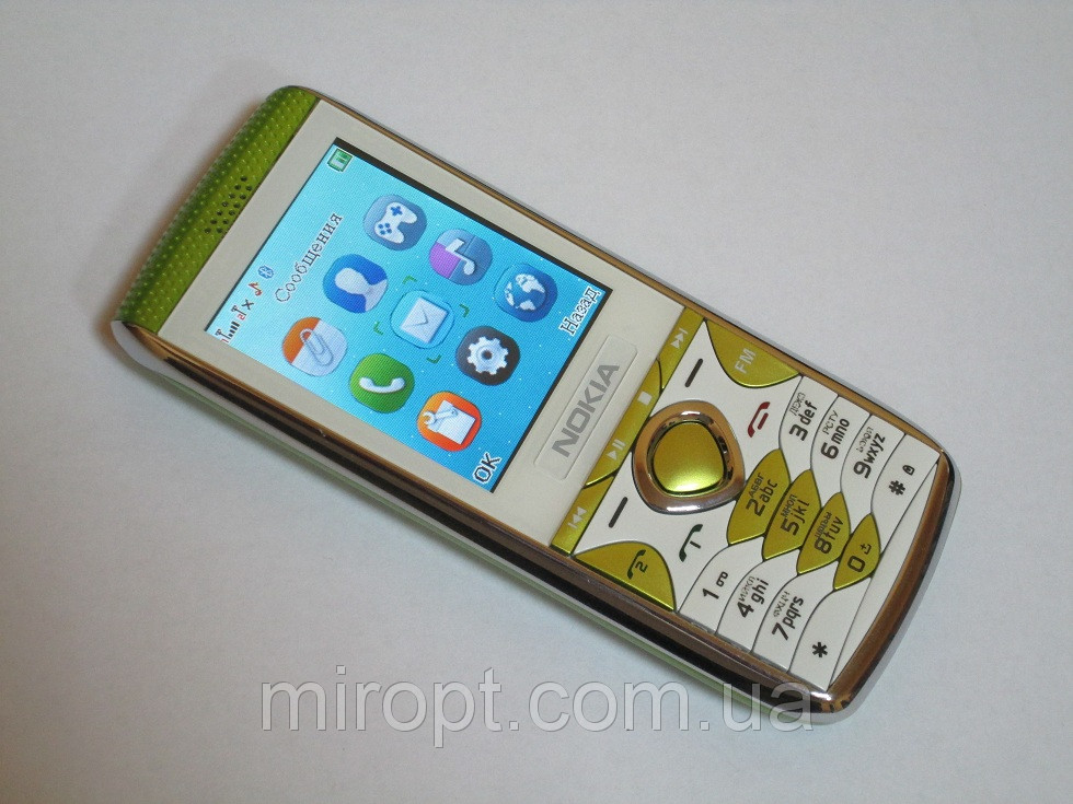 """Телефон Nokia K9 - 2,2"""" - 2 sim -Fm - Bt - Camera -  стильный корпус"""