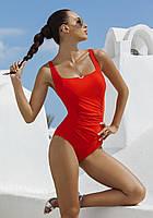 Слитный польский купальник майо от Madora,Dalia 50(XXL), красный