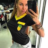 Женская футболка в ассортименте у-17381