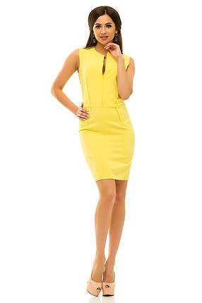 Платье 237 желтое, фото 2