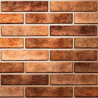 Плитка фасадная Seven Tones (orange) Оранжевый, 60х250