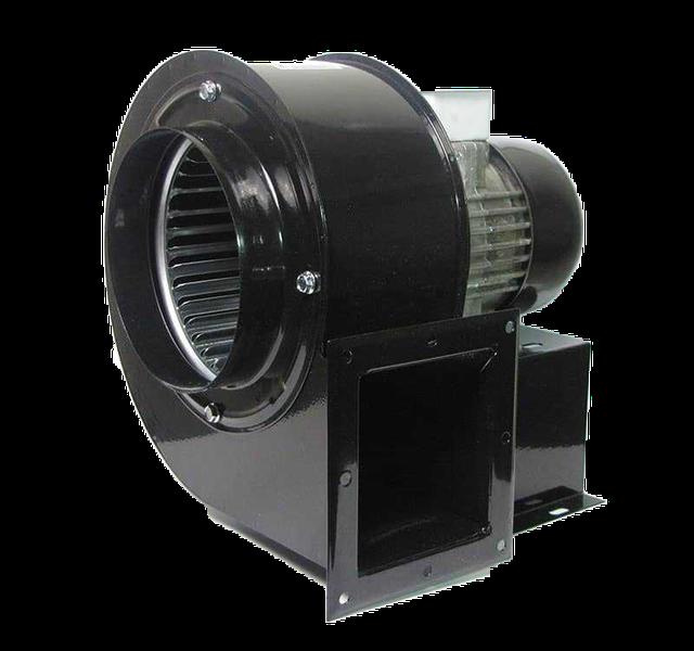 Вентилятор OBR 200 для промышленного котла на твердом топливе