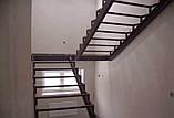 Лестницы. Каркас лестницы с площадкой и  поворотом 180*, фото 6