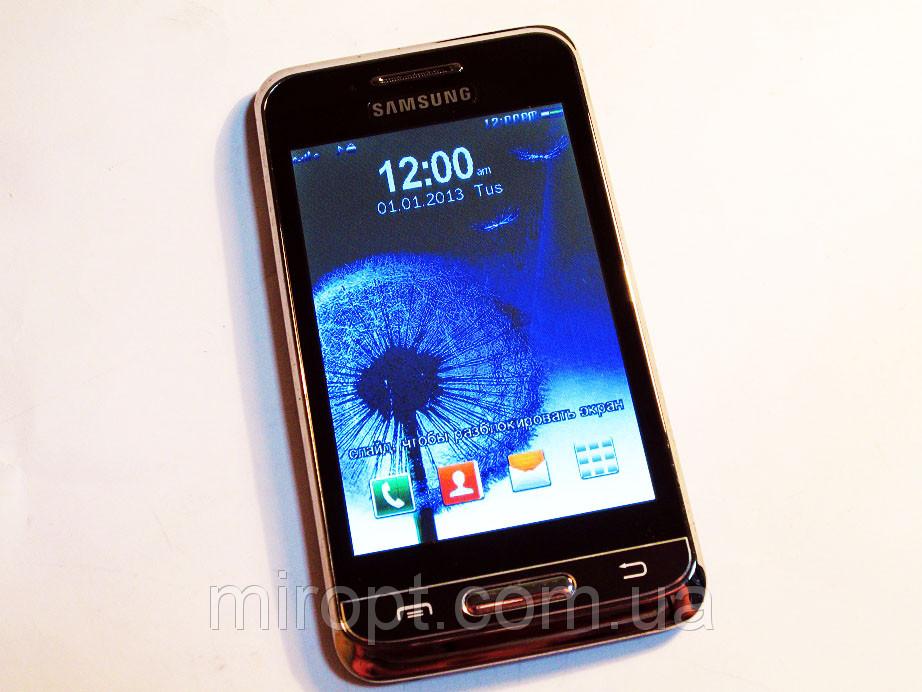 "Смартфон Samsung S3 9850 TV  - 2Sim - сенсор 4"" - FM - BT - Cam"