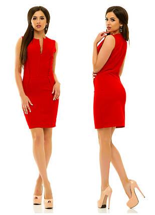 Платье 237 красное, фото 2