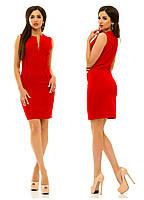 Платье 237 красное