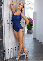 Слитный польский купальник майо от Madora,Dalia 46(L), синий