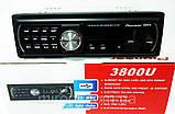 Автомагнитола Pioneer 3800U Usb+Sd+Fm+Aux+ пульт, фото 3