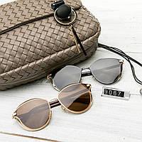 Женские брендовые очки копия Диор реплика круглые, фото 1