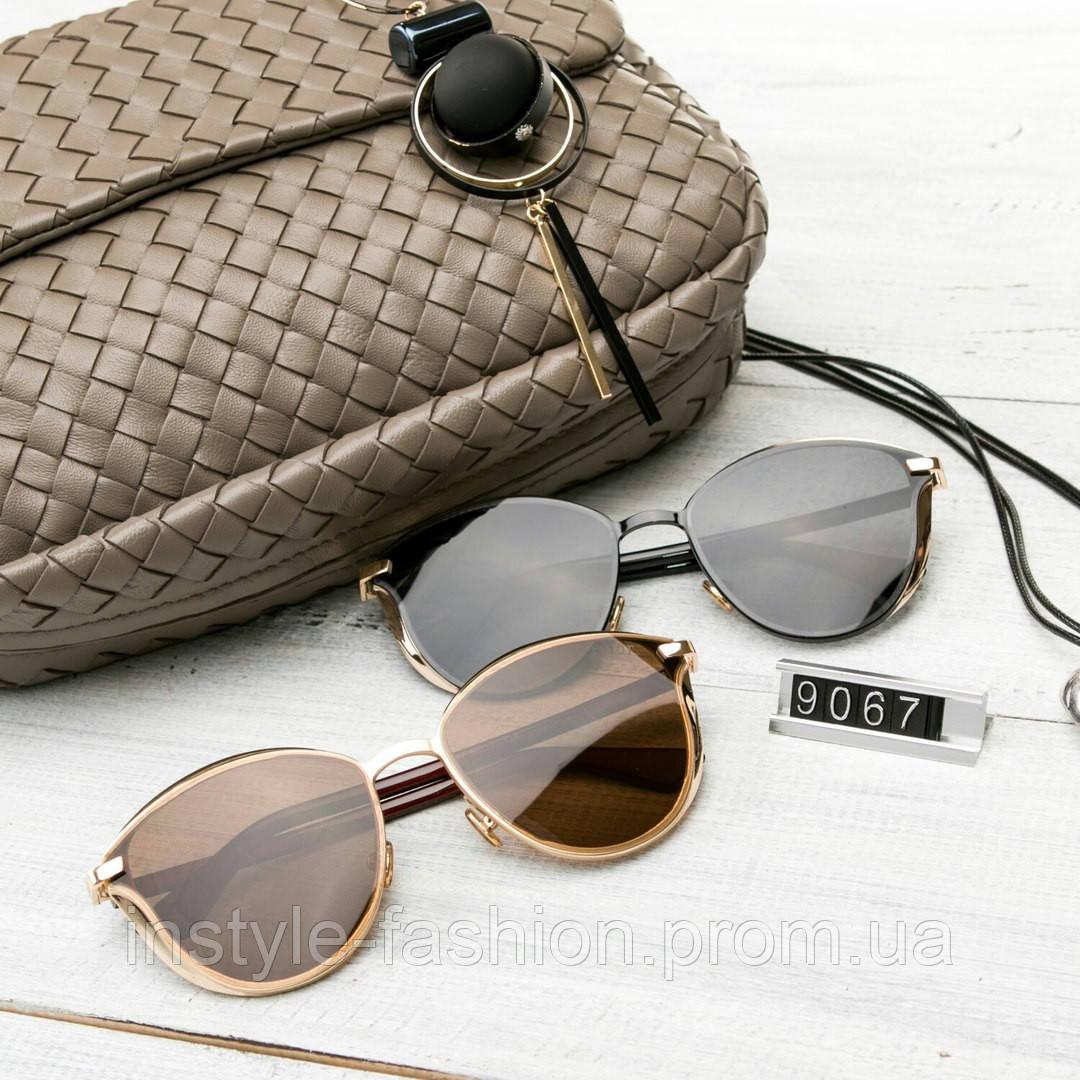 Женские брендовые очки копия Диор реплика круглые