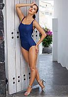 Слитный польский купальник майо от Madora,Dalia 48(XL), синий