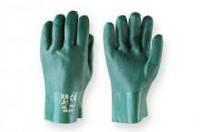 Перчатки рабочие кщс зелёные