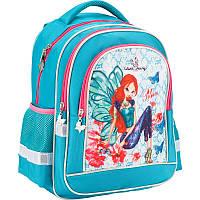 Рюкзак школьный ортопедический Kite Winx fairy couture Винкс (W17-509S)