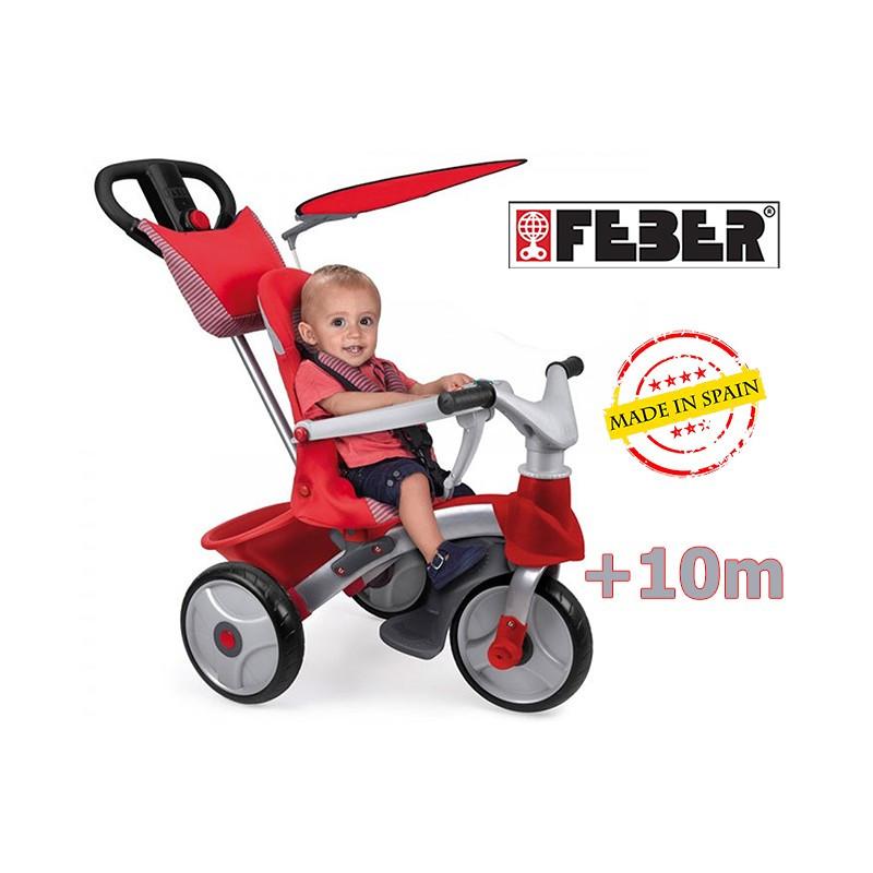 Трехколесный велосипед Feber BABY TRIKE EASY EVOLUTION 09473