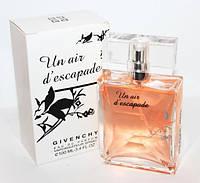Женские духи ПарфюмOriginal Givenchy Un Air DEscapade TESTER 100 ml,туалетная вода женская