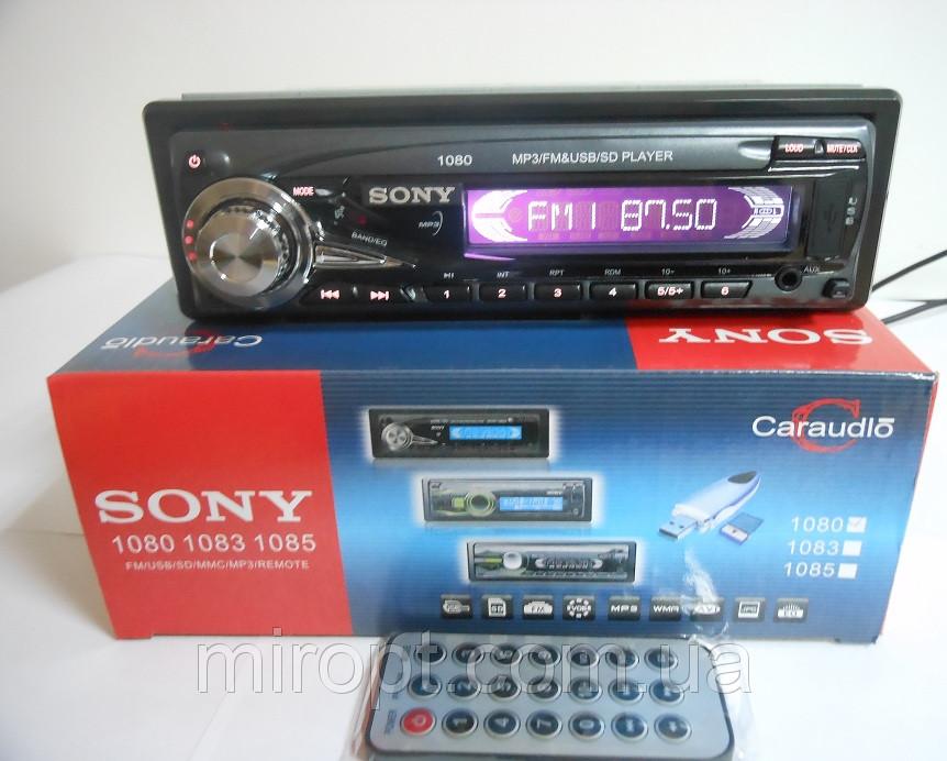 Автомагнитола Sony 1080 Usb+Sd+Fm+Aux+ пульт