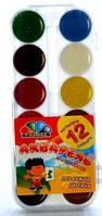 Краски акварельные 12 цветов Гамма «Увлечение»