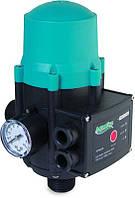 """Контроллер давления электрический 1.1кВт с регулятором 1.5-3.0 bar  - """"Aquatica"""""""