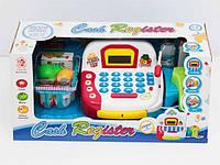 Кассовый аппарат LF 1018 A (12/2) батар, свет, муз, с корзиной, пласт. продуктами, в кор-ке