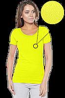 Футболка женская -  789A желтая