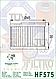 Масляный фильтр Hiflo HF575 для Aprilia., фото 2