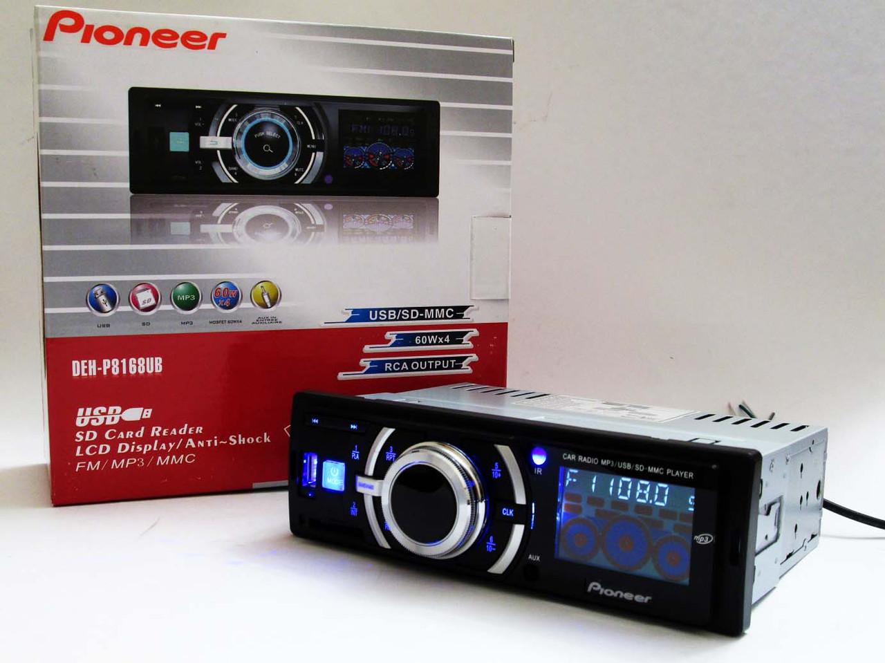 Автомагнитола Pioneer DEH-P8168UB USB+SD