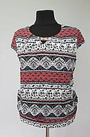 Оригинальная женская блуза с украшением