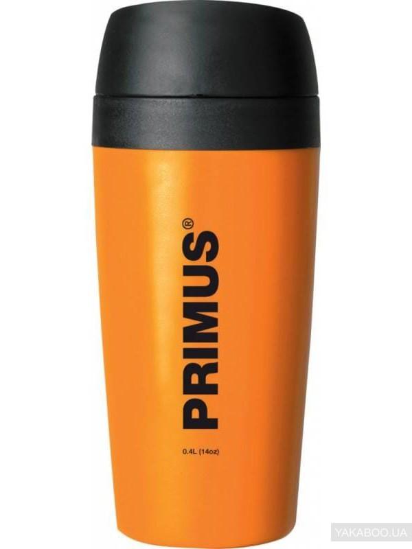 Термокружка PRIMUS C/H Commuter Mug 0.4 l  пластик оранжевая