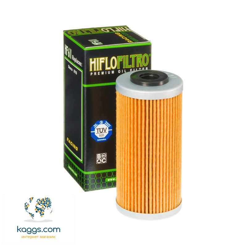 Масляный фильтр Hiflo HF611 для BMW, Husqvarna, Sherco.