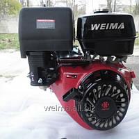 Бензиновый двигатель WeimaWM190F-L  (редуктор 1/2,шпонка 25мм, ручной  старт,1800об/мин),16л.с. для мотоблоков