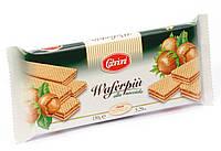 Вафли Cabrioni Waferpiu alla Nocciola с ореховой начинкой, 150 грамм, фото 1