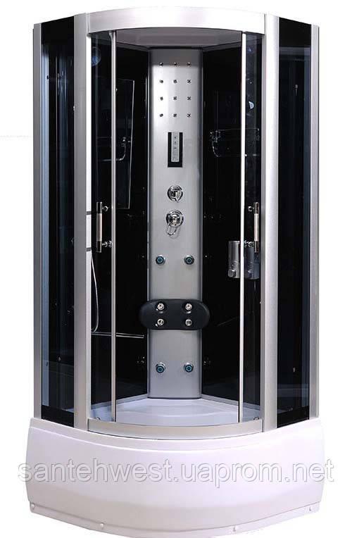 Гидробокс NEO 90HT Black, 90*90*215 см