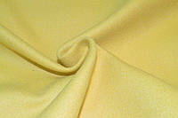 Кашемир однотонный желтый