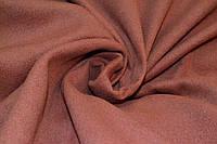 Кашемир однотонный коричневый